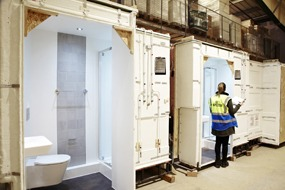 Offsite Solutions quality control processes for bathroom pods