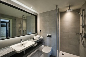 Luxury bathroom pods from Offsite Solutions for suites at Llanerch Vineyard Hotel