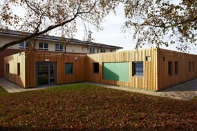 A recycled modular building from Foremans for new academy