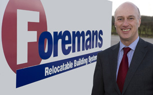Foremans - the UK's largest supplier of recycled and refurbished modular buildings
