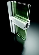 Technal Modal low rise glazing section