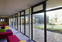 Low rise glazing for schools