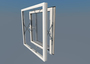 Parallel opening window for superior ventilation