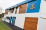 refurbished modular building for school