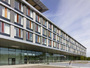 bespoke façade solution for hospital building
