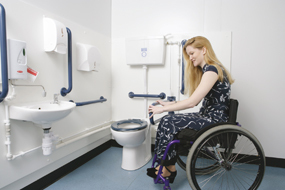 accessible toilets and washrooms