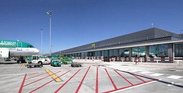 The new passenger terminal at Dublin Airport