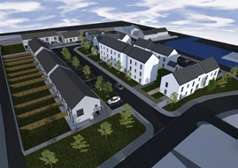 An offsite housing scheme from The McAvoy Group